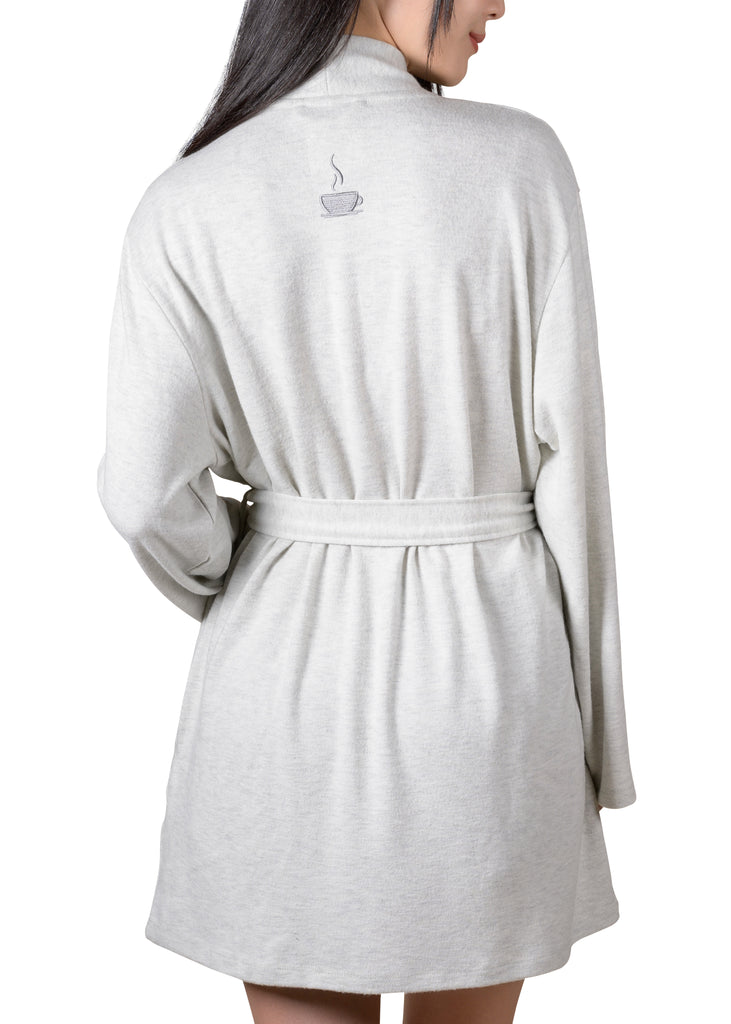 Wrap-It-Up Reading Robe - Grey Mix