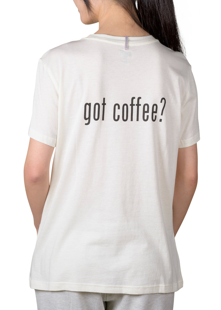 Current Mood Boyfriend T-Shirt - got coffee?