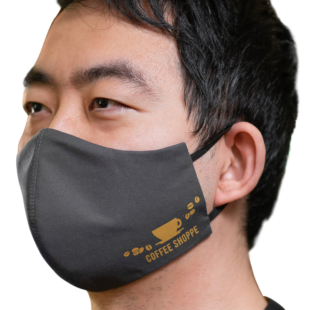 Coffee Shoppe Unisex Face Mask Kit