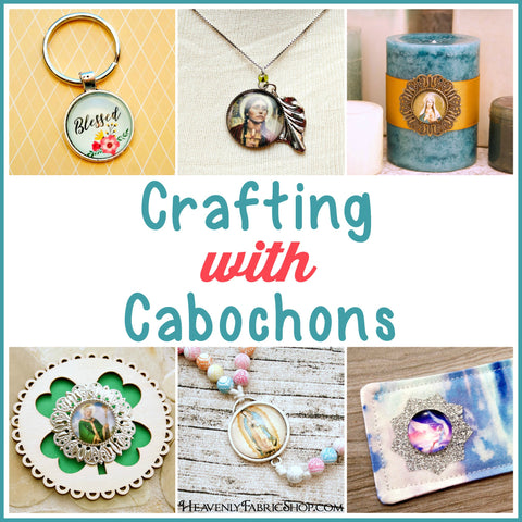 Crafting with cabochons