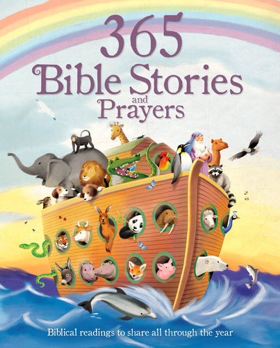365 Bible Stories and Prayers Padded Book