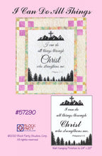 I Can Do All Things Through Christ Quilt Pattern & Fabric Panel Kit