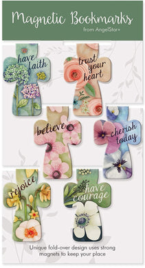 Magnetic Cross Bookmarks Set