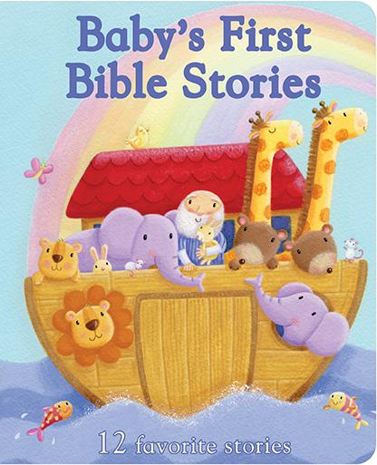 Baby's First Bible Stories Padded Board Book