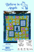 Believe In Angels Quilt Pattern & Fabric Panel Kit
