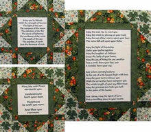 Irish Blessings Quilt Pattern & Fabric Panel Kit