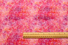 Dream Big Dark Pink Cotton Fabric