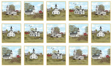 Amazing Grace Scripture Churches Cotton Fabric Panel