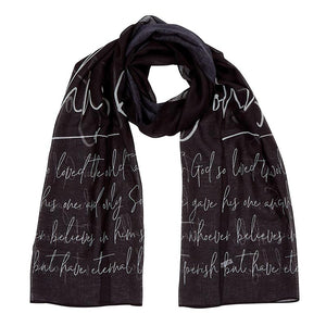 John 3:16 Prayer Scarf