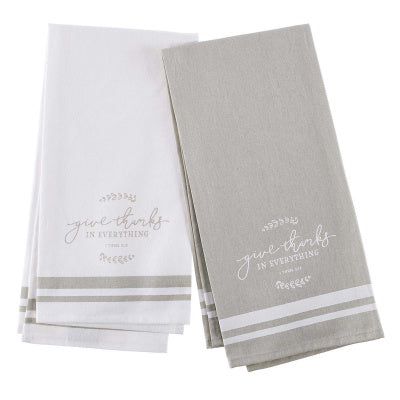Give Thanks Tea Towel Set