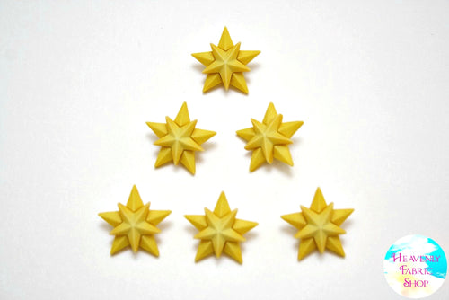 Christmas Stars Buttons Set