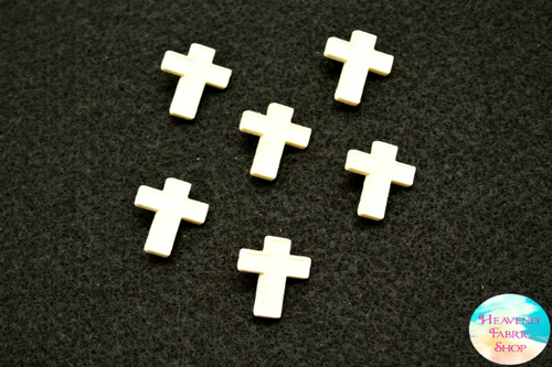 6 piece Cross Button Set