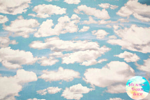 Clouds in the Sky Cotton Fabric