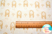 Faith Religious Crosses Jesus Praying Light Cream Cotton Fabric
