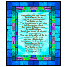 How Sweet The Sound Amazing Grace MINKY Fabric Panel