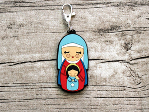 Shining Light Saint Anne Jumbo Rubber Charm