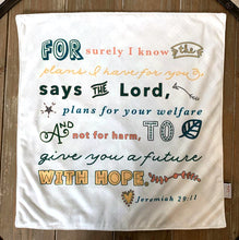 I Know The Plans I Have For You Jeremiah 29:11 Ultra Soft Lovey Blanket