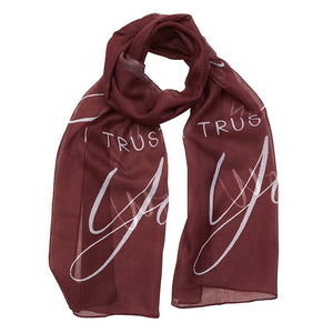 Jesus I Trust In You Prayer Scarf
