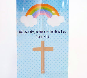 Jesus Loves You Sturdy Plastic Gift Bag