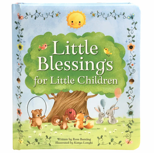 Little Blessings For Little Children Padded Board Book