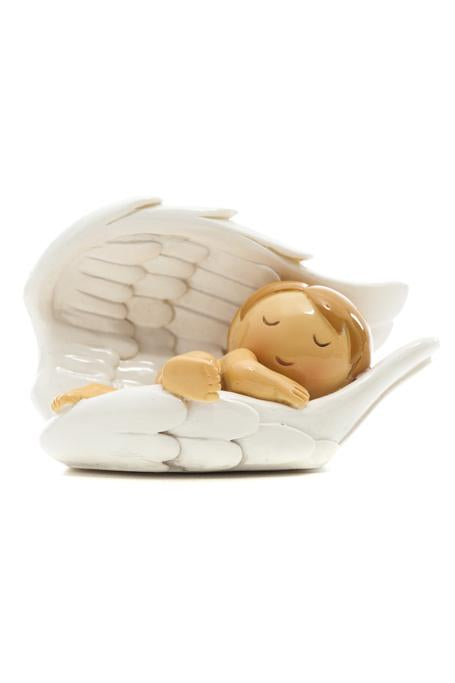 Guardian Angel Baby Wing Statue