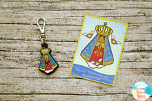 Our Lady of Aparecida Rubber Charm