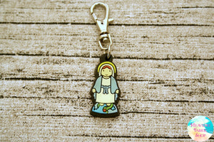 Our Lady of Grace Rubber Charm