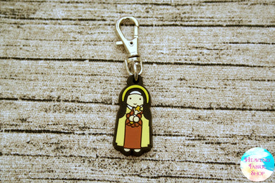 Saint Therese Rubber Charms