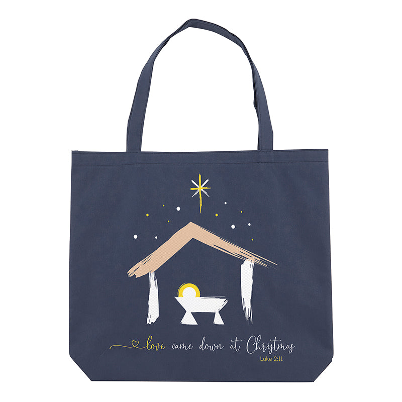 Love Came Down At Christmas Tote Bag