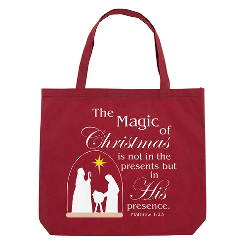 Magic of Christmas Recycled Tote Bag