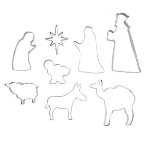 Christmas Nativity Cookie Cutter Set