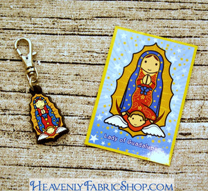 Our Lady of Guadalupe Rubber Charms