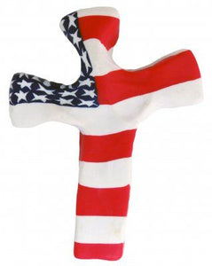 Patriotic Pocket Cross