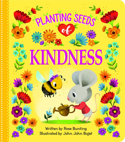 Planting Seeds of Kindness Padded Board Book