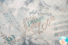 Songbook Praise & Rejoice Hallelujah Cotton Fabric