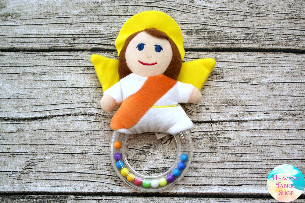 Guardian Angel Rattle Toy