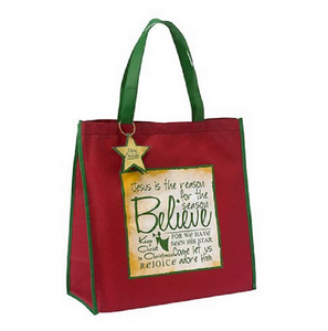 Believe Christmas Tote Bag
