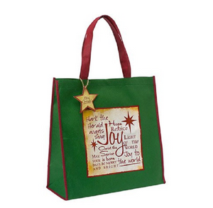 Joy Christmas Tote Bag