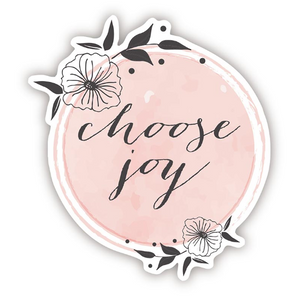 Choose Joy Decal Sticker