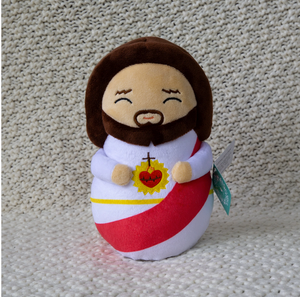 Shining Light Jesus Plush Doll