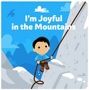 Tiny Saints I'm Joyful In The Mountains Board Book