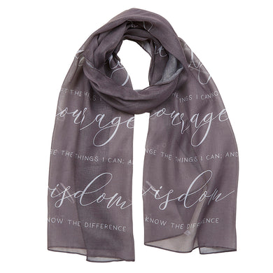 Serenity Prayer Scarf
