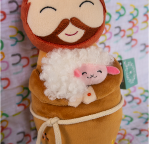 Shining Light Saint Francis Plush Doll
