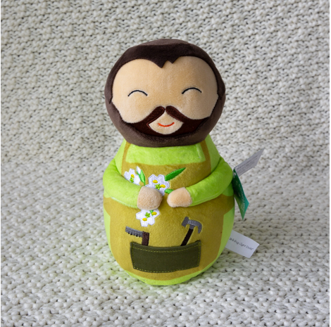Shining Light Saint Joseph Plush Doll