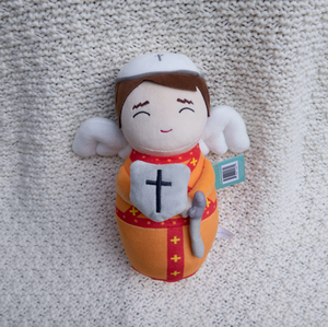 Shining Light Saint Michael Plush Doll