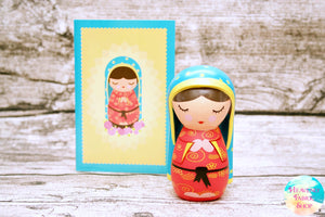 Shining Light Our Lady of Guadalupe Doll