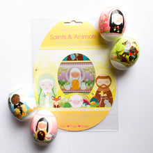 Shining Light Saints & Animals Easter Egg Wraps