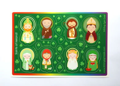 Shining Light Saints of Ireland Sticker Sheet