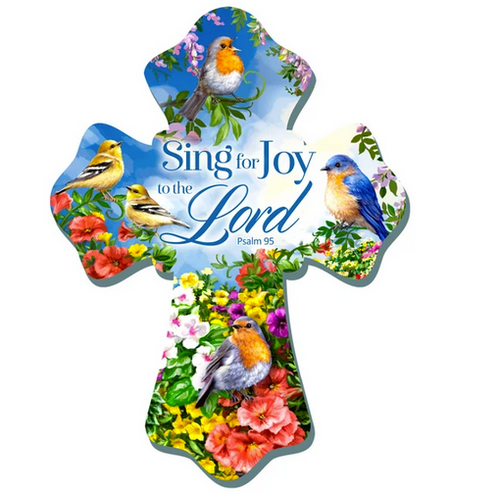 Sing For Joy Wall Cross