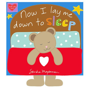 Huggable and Loveable Now I Lay Me Down To Sleep Prayer Soft Book Cotton Fabric Panel